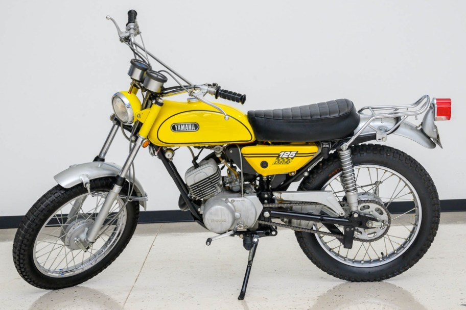 No Reserve: 1970 Yamaha Enduro 125 AT1