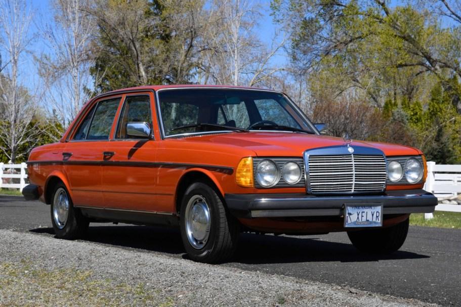 No Reserve: 1977 Mercedes-Benz 300D Project