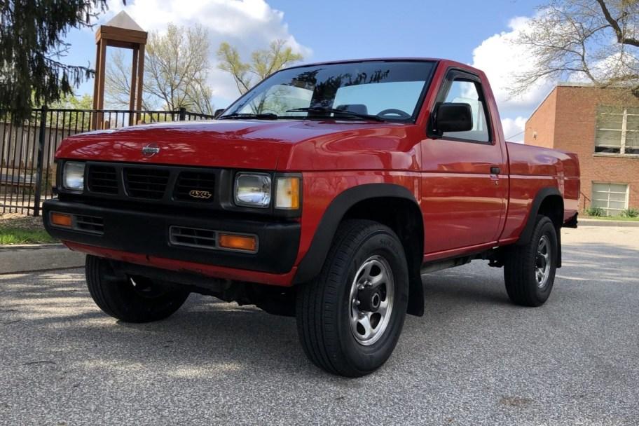 31k-Mile 1993 Nissan Hardbody 4x4 Pickup
