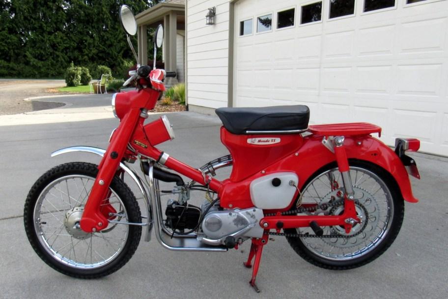 No Reserve: 1964 Honda C105T Trail 55