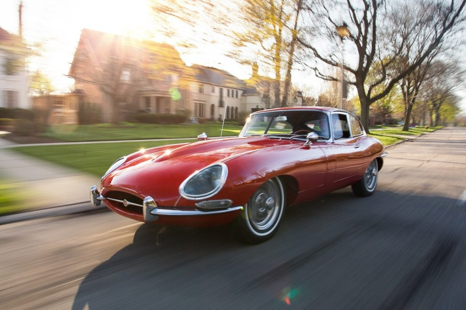 23k-Mile 1965 Jaguar XKE Series I Coupe