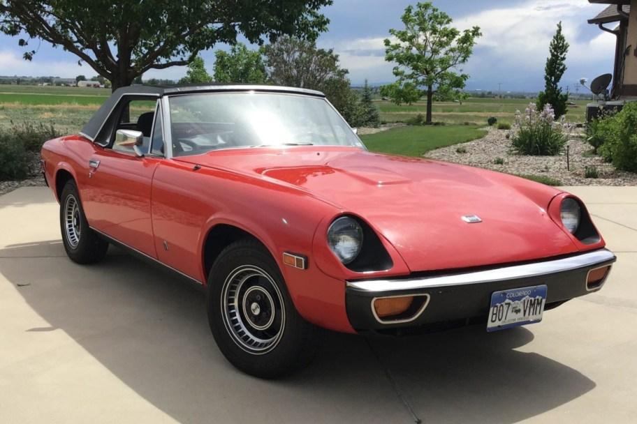 1974 Jensen-Healey Mk II 5-Speed