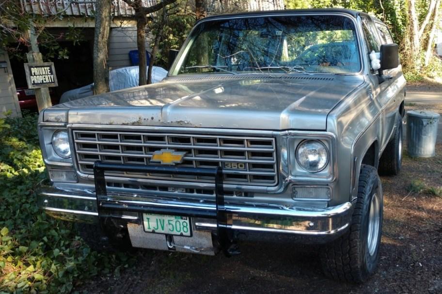 One-Owner 1975 Chevrolet Blazer K5 Cheyenne
