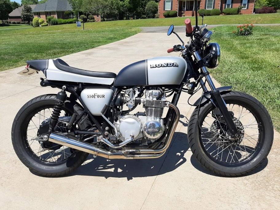 No Reserve: 1975 Honda CB550F Super Sport