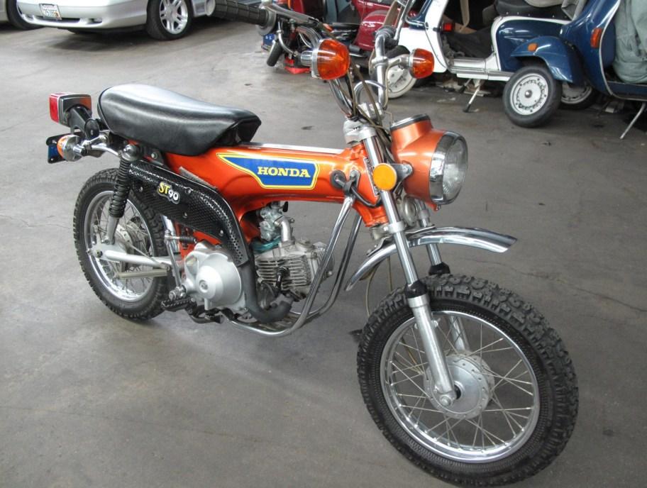No Reserve: 1975 Honda ST90