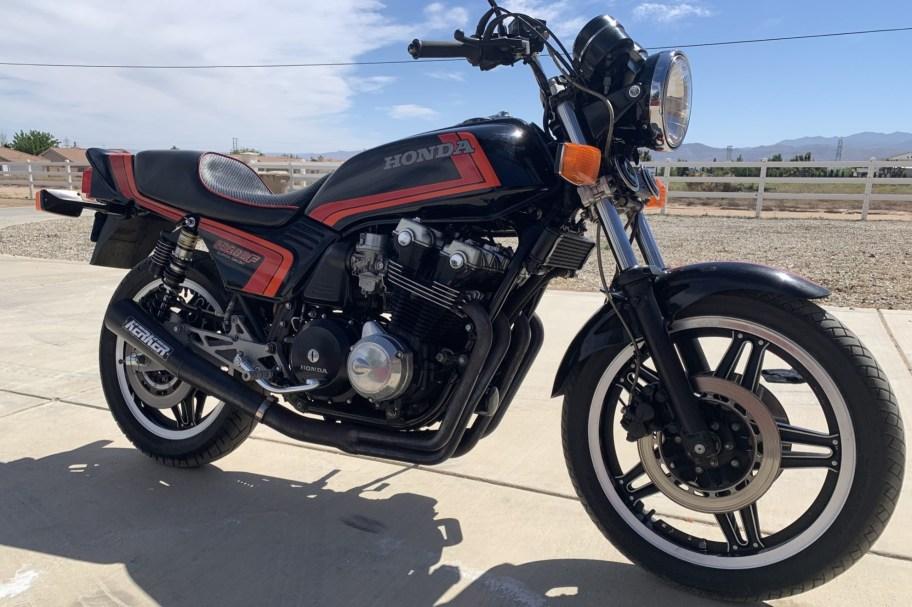 No Reserve: 1982 Honda CB900F Super Sport