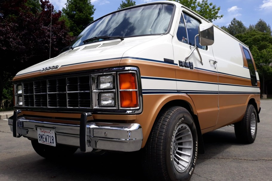 No Reserve: 1985 Dodge Ram Conversion Van
