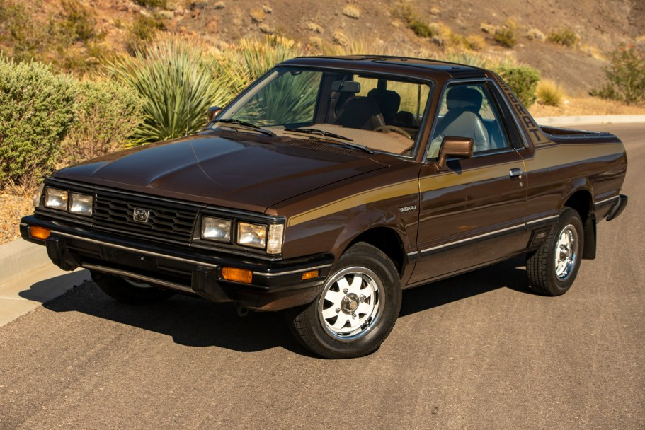 1985 Subaru BRAT 4-Speed