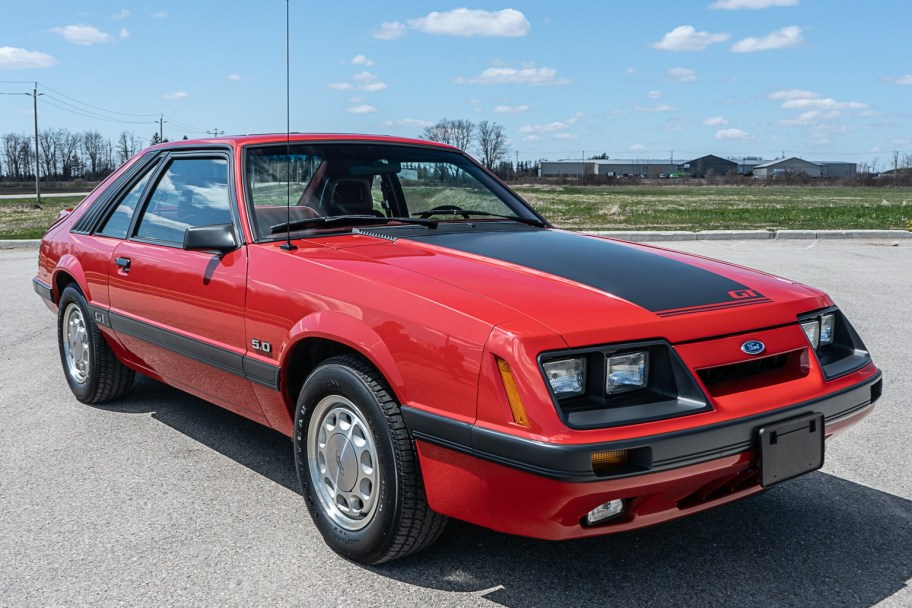 5k-Mile 1986 Ford Mustang GT 5.0 5-Speed