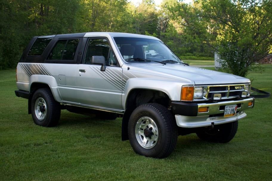 1987 Toyota 4Runner SR5 4x4 5-Speed