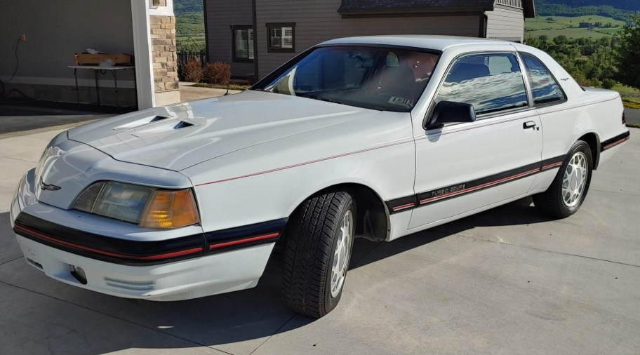 No Reserve: 16k-Mile 1988 Ford Thunderbird Turbo 5-Speed