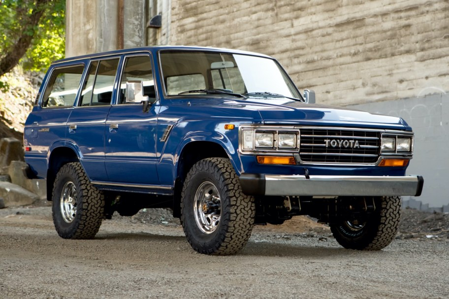 1988 Toyota Land Cruiser FJ62 5-Speed
