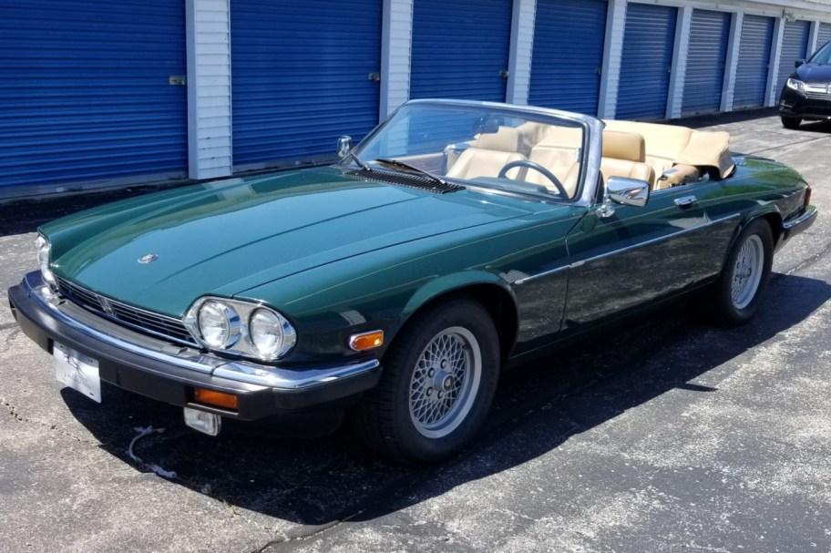 30k-Mile 1990 Jaguar XJS V12