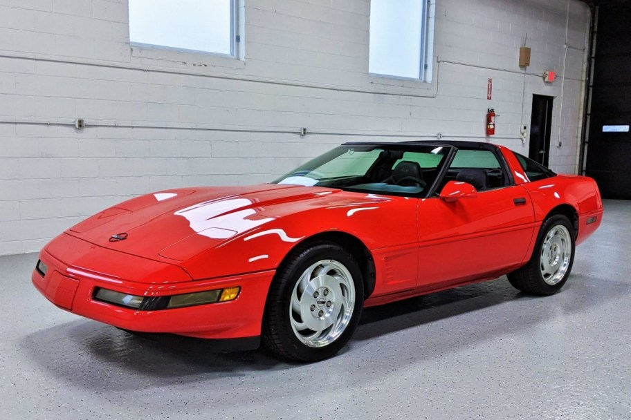 No Reserve: 1995 Chevrolet Corvette 6-Speed