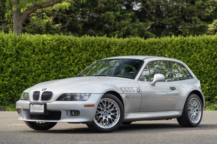 No Reserve: 2001 BMW Z3 Coupe 3.0i