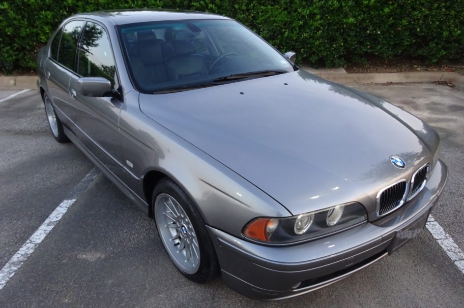 No Reserve: 2002 BMW 540i 6-Speed