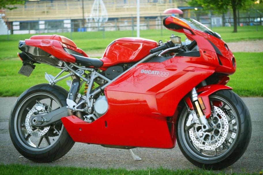 No Reserve: 3k-Mile 2003 Ducati 999