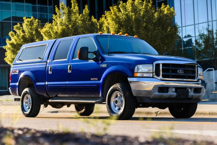 No Reserve: 2003 Ford F-350 Super Duty Diesel 4x4 6-Speed