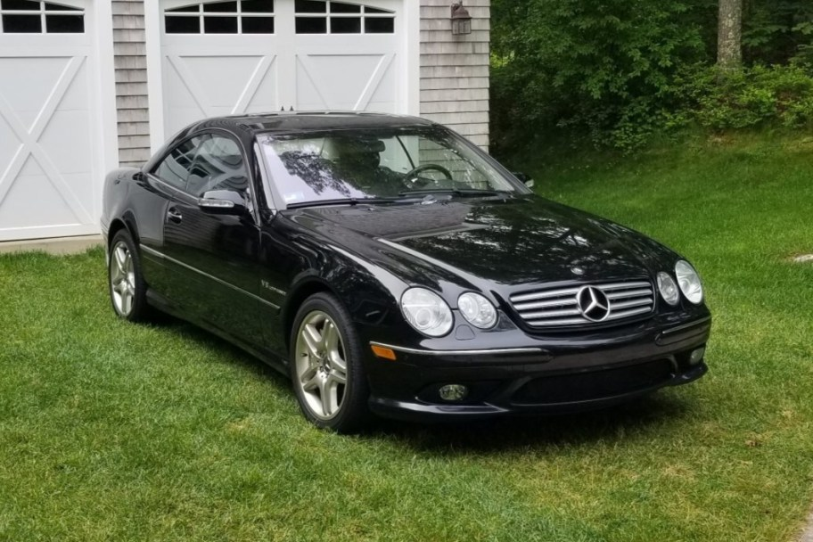 No Reserve: 2003 Mercedes-Benz CL55 AMG