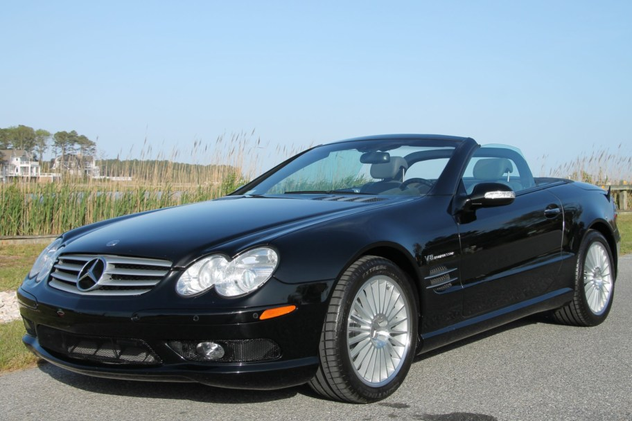 29k-Mile 2003 Mercedes-Benz SL55 AMG