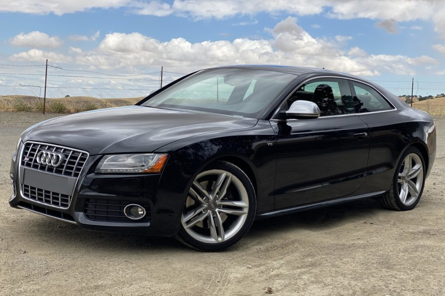 2008 Audi S5 Coupe 6-Speed