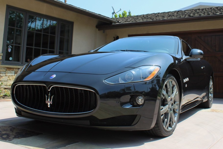 11k-Mile 2009 Maserati GranTurismo S