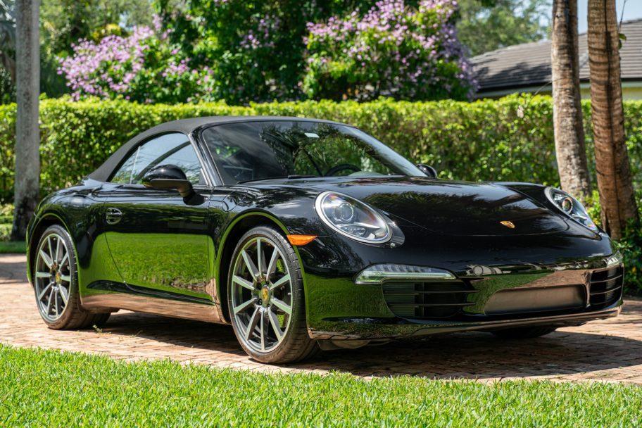 One-Owner 2013 Porsche 911 Carrera Cabriolet 7-Speed