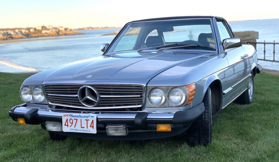 No Reserve: 1984 Mercedes-Benz 380SL