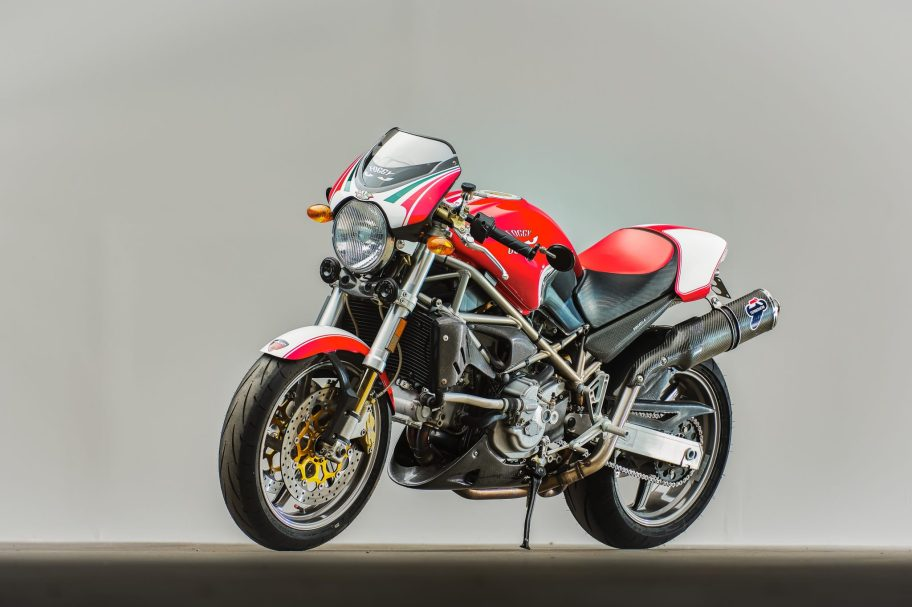 No Reserve: 2002 Ducati Monster S4 Fogarty Edition