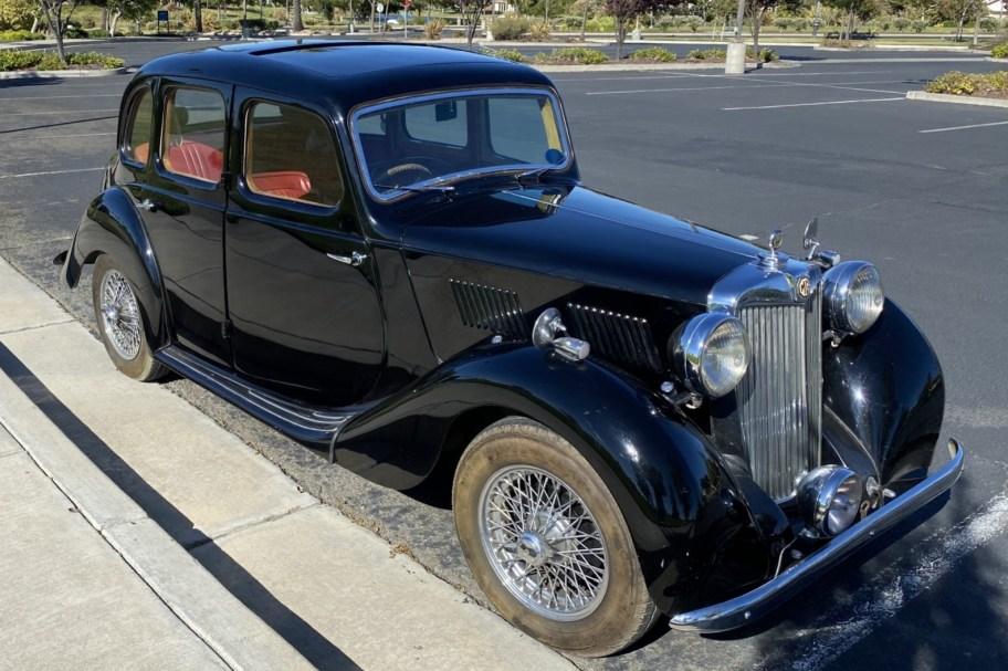 Supercharged 1948 MG YA