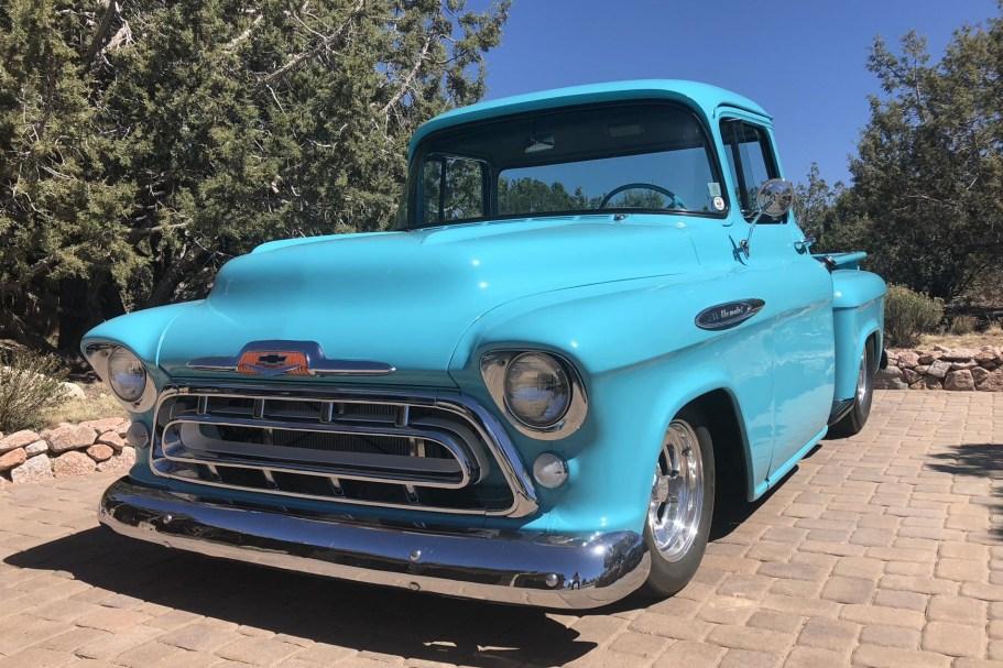 20-Years-Owned 1957 Chevrolet 3100 Big Window Pickup