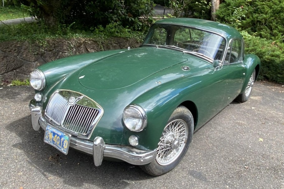 No Reserve: 24-Years-Owned 1957 MG MGA Coupe Project