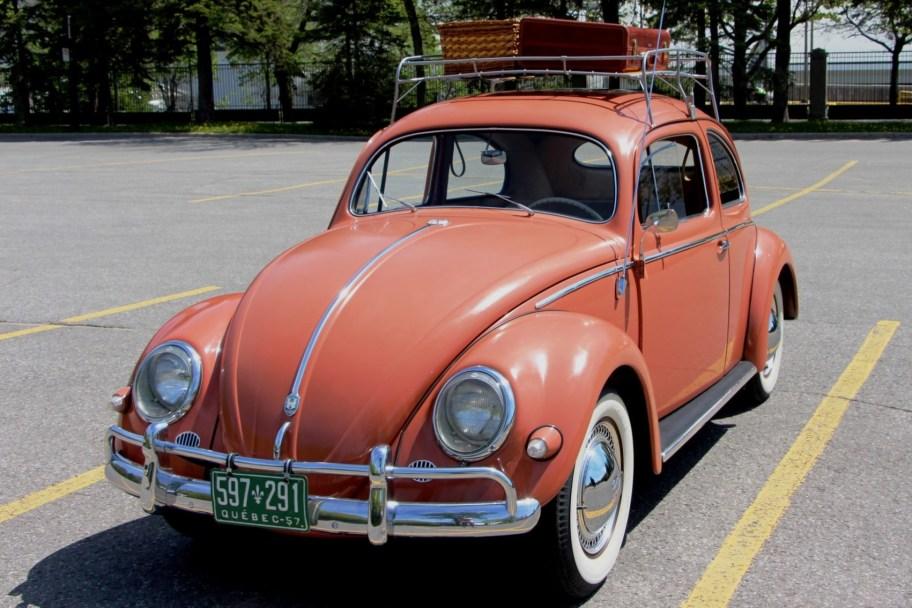 30-Years-Owned 1957 Volkswagen Beetle