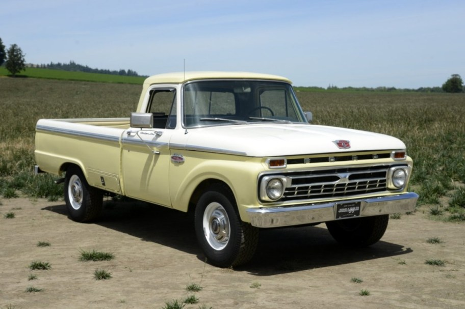 No Reserve: 1966 Ford F-250 Camper Special 4-Speed