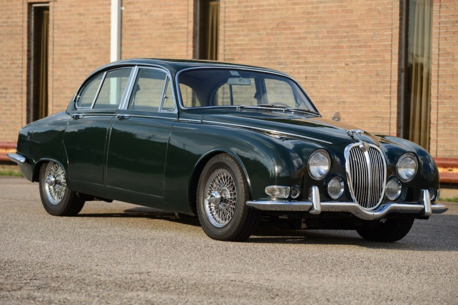 No Reserve: 1966 Jaguar S-Type 3.8