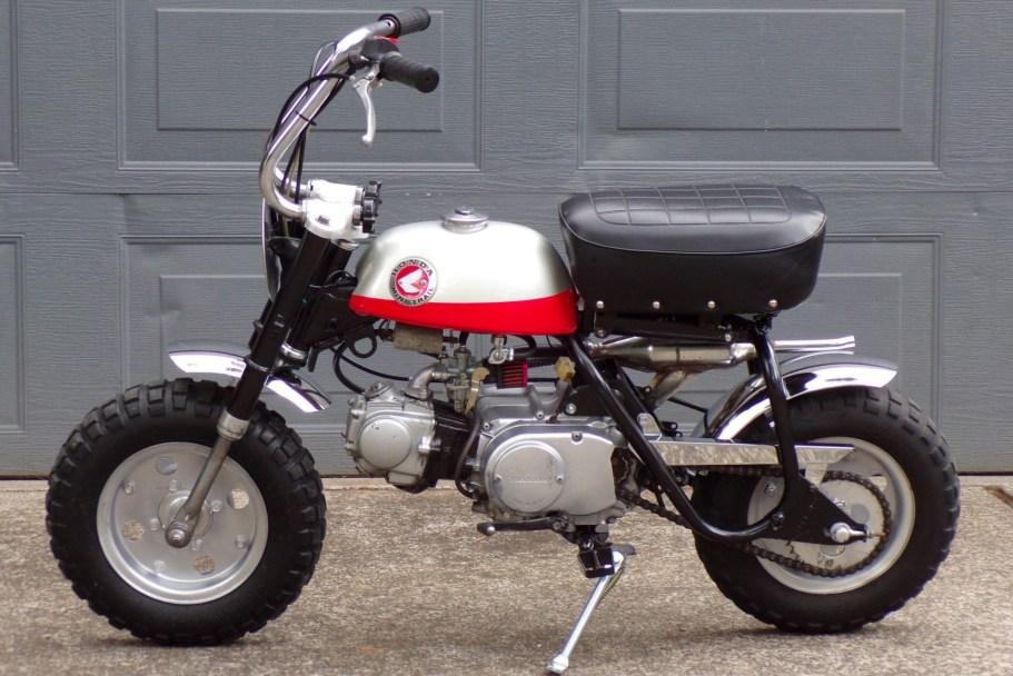 No Reserve: 1969 Honda Z50A Monkey