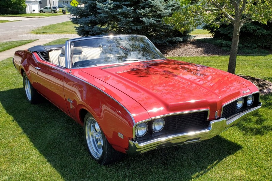 455-Powered 1969 Oldsmobile Cutlass Convertible