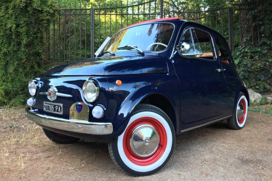 Restored 1970 Fiat 500