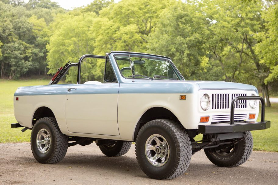 No Reserve: Modified 1973 International Harvester Scout II