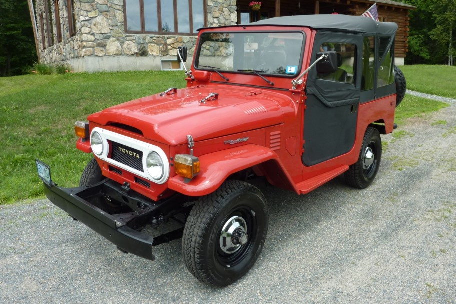 Original-Owner 1978 Toyota Land Cruiser FJ40