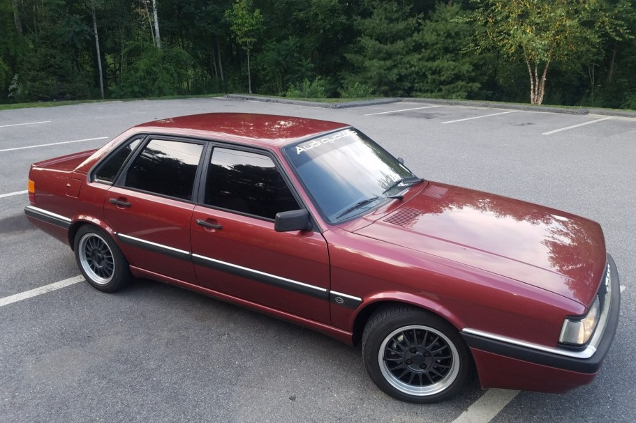 No Reserve: Euro 1985 Audi 90 Quattro