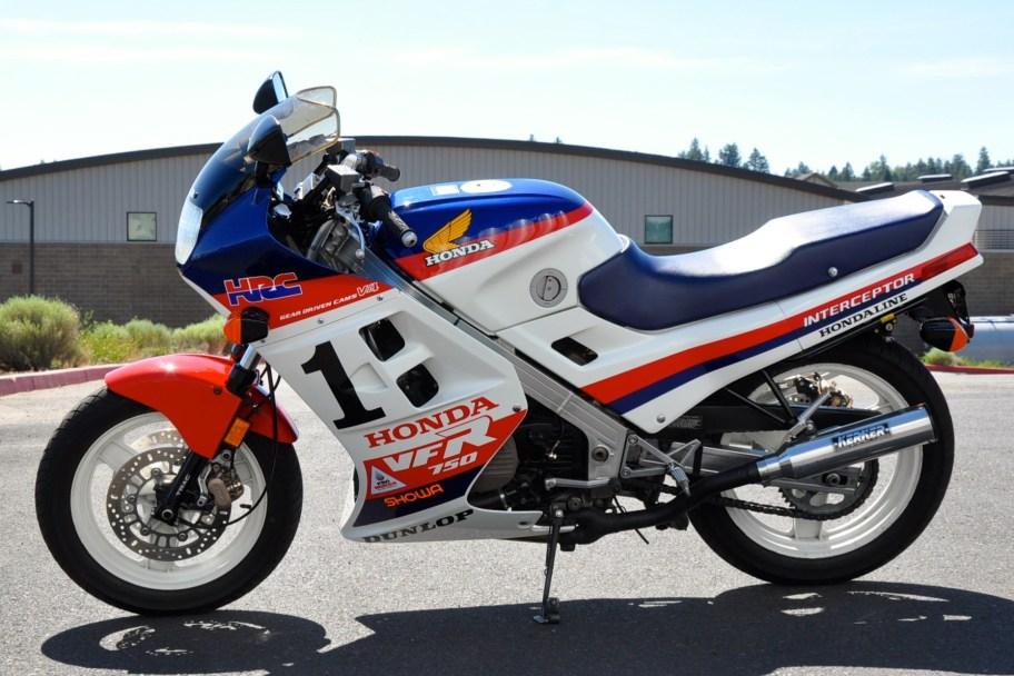 1986 Honda VFR750 Interceptor