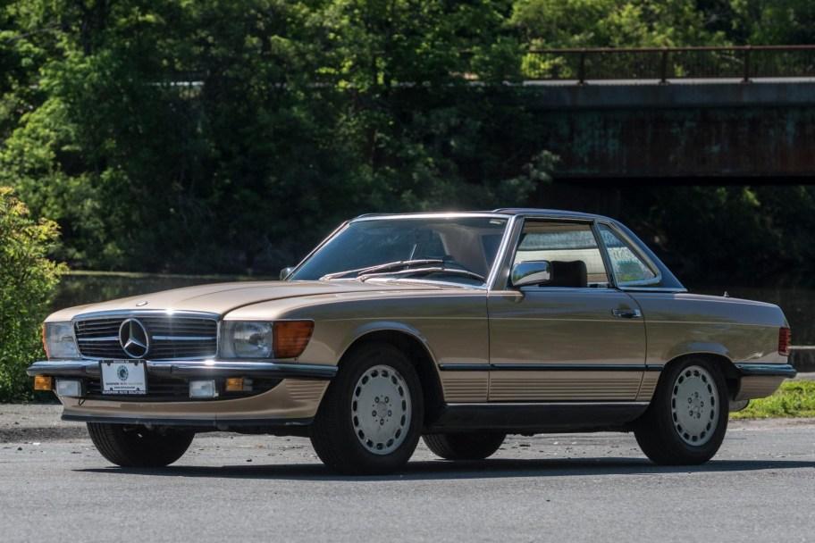 Euro 1986 Mercedes-Benz 300SL 5-Speed