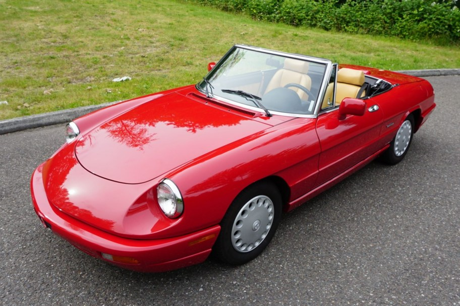 No Reserve: 39k-Mile 1991 Alfa Romeo Spider