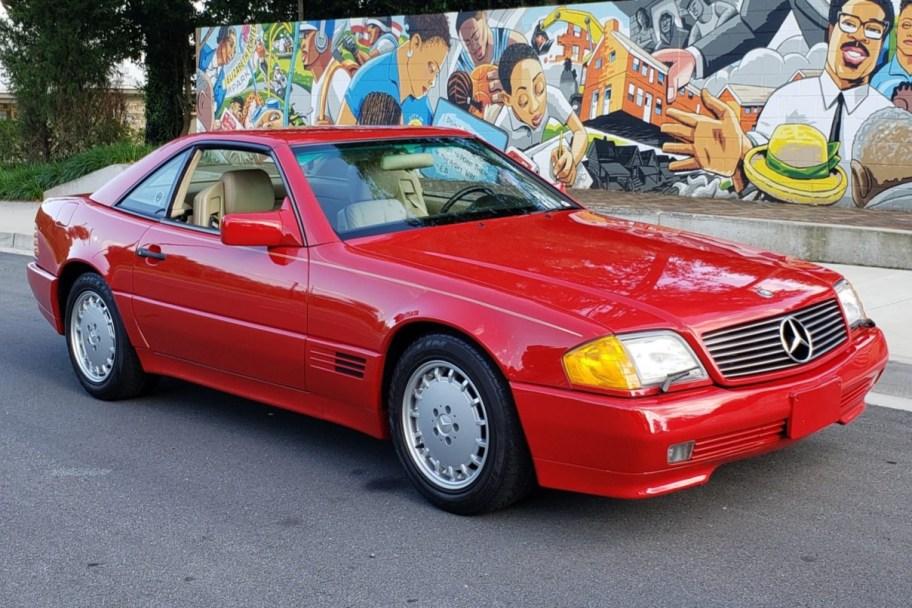 1991 Mercedes-Benz 300SL 5-Speed