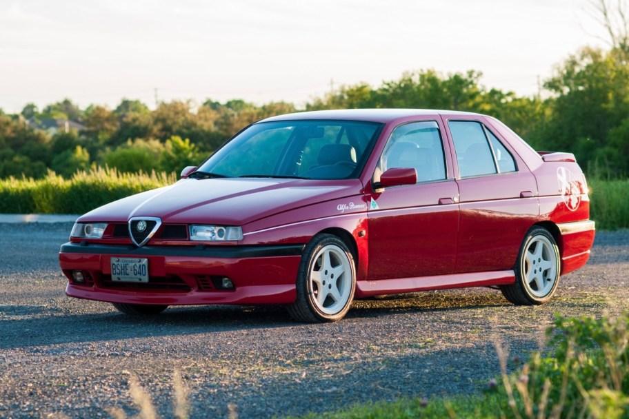 1997 Alfa Romeo 155 V6 5-Speed