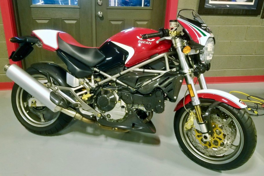 2-Mile 2002 Ducati Monster S4 Fogarty Edition