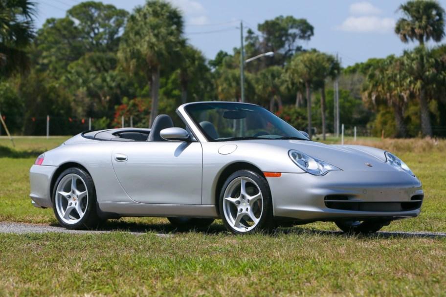 27k-Mile 2004 Porsche 911 Carrera Cabriolet 6-Speed