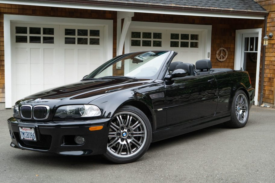 49k-Mile 2005 BMW M3 Convertible 6-Speed