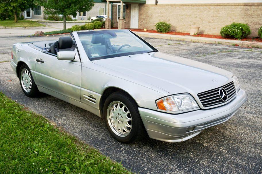 No Reserve: 45k-Mile 1998 Mercedes-Benz SL600